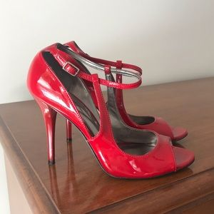 Guess Marciano Red Hot Cut Out Stilettos